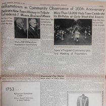 "Image of ""Williamstown in Community Observance of 200th Anniversary"""