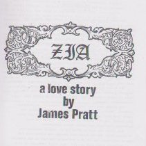"Image of CD of ""Zia; a love story"" by James Pratt.  CD of manuscript of story of Pratt House, originally on Lynde Lane by Williams College tennis courts (near Southworth Street).  Home moved to Park Street."