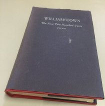 "Image of ""Williamstown: The First Two Hundred Years,"" 1st edition, signed"