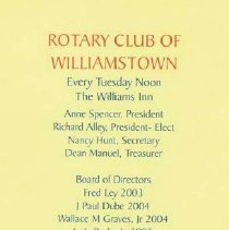 Image of Rotary Club of Wmst. Art Aucti