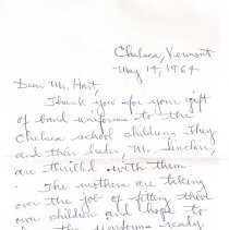 Image of Letter from Katherine R Whitne