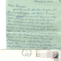 Image of Letter from Jan to HHHart Sr.