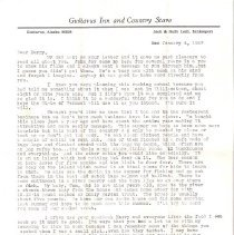 Image of Letter to HHH Sr. from Sally L