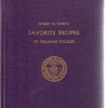 Image of Harry H Hart's Cookbook