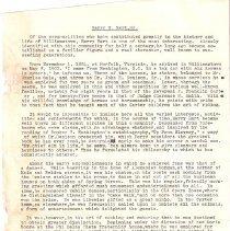 Image of Testimonial on Harry Hart Sr.