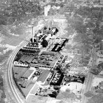Image of Aerial Decatur Plant 1 before expansion