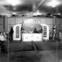 Image of Mueller display circa 1940s