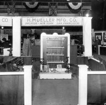 Image of Mueller Co display--Natural Gas Convention--Kansas City--May 1922