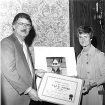 Image of F.H.A.P. Society 1975 Award Luncheon (3-8-76) Shirley Coskey