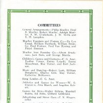 Image of Picnic Program  page 1