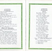 Image of Picnic Program pages 4&5