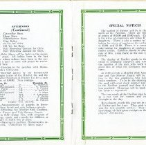 Image of Picnic Program pages 6 & 7