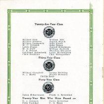 Image of Picnic Program pages 12 & 13