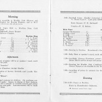 Image of 1925 Picnic Pamplet  pages 2 & 3