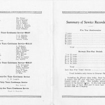 Image of 1925 Picnic Pamphlet  Pages 6 & 7