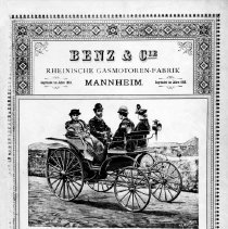 Image of Advertisement Poster --Benz Motor Wagon