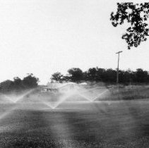Image of Golf course at Port Huron --sprinklers  1927
