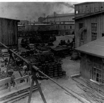 Image of Chatanooga TN factory--exterior view of yard