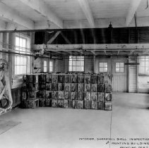 Image of Port Huron Plant--iinterior view-shell inspection &painting building