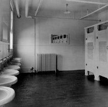 Image of Port Huron Plant-Wash Room  interior view