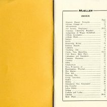 Image of booklet Index