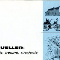 Image of Advertising Pamphlet  A Glance at Mueller--cover