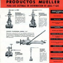 Image of Advertising Mueller Products in Spanish