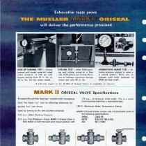 Image of Advertising Mark II oriseal valve  back