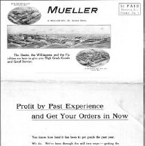 Image of Advertising--Mueller Gas Brass Goods