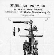 Image of Advertising Mueller Water Pipe Tapping Machine--front