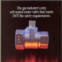 Image of Advertising Mueller Centurion 607 Gas Meter Valve