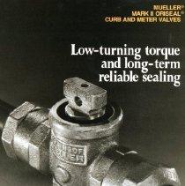 Image of Advertising Mueller Mark II  Oriseal curb and meter valves
