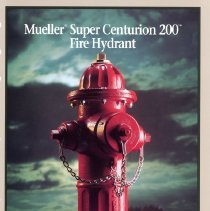 Image of Advertising Muellert Supter Centurion 200 Fire Hydrant