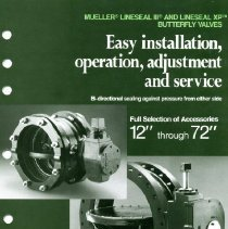 Image of Advertising--Mueller Lineseal III and Lineseal XP  Butterfly valves