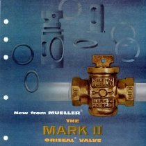 Image of Advertising flyer for Mueller Mark II  Oriseal Valve