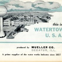 "Image of Ad "" This is Watertown U.S. A. ""  pamphlet--cover view"