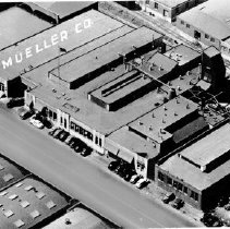 Image of Aerial view of Mueller Co.