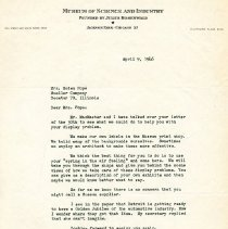 Image of 1999.10.15 - letter