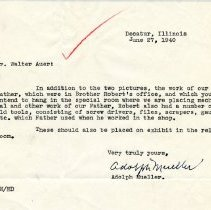 Image of 1999.10.19 - letter