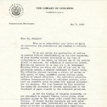Image of 1999.10.5 - letter