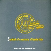 Image of Folder 100th year anniversary of Mueller Co.