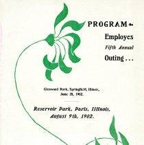 Image of 1999.2.3 - Program