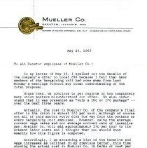 Image of Letter May 28, 1965   Page 1