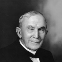 Image of Photo Portrait of older Man in Tuxedo