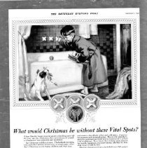 Image of Advertisement Mueller Vital Spots faucets  1925