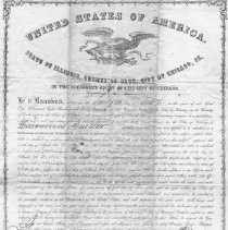 Image of Original Naturalization Papers of Hieronymus Mueller