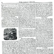 Image of The Great South  page 14  article about Mueller & Sons  cont.