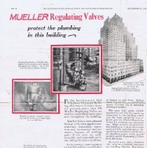 Image of Advertising Mueller Co. Regulating Valves