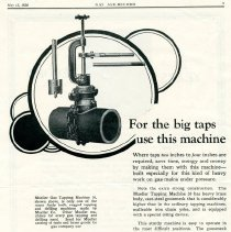 Image of Advertising Mueller Gas Tapping Machine 30