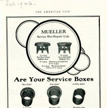 Image of Advertising Mueller Service Box Repair Lids